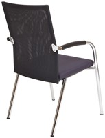 Bezoekersstoel Van Hilten Huislijn BN23 - Oasis Grijs (9114)-3