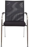 Bezoekersstoel Van Hilten Huislijn BN23 - Oasis Zwart (9111)-2