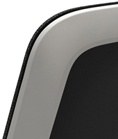 Bezoekersstoel Interstuhl Buddy 550B zwart / zwart stof Era-3