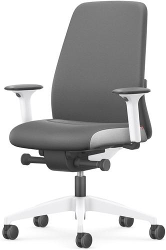 Bureaustoel Interstuhl New Every Interior Editions wit / stof Era - Quartz Grey-2