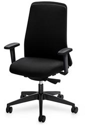 Bureaustoel Interstuhl New Every EV311 zwart / zwart stof Era