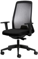 Bureaustoel Interstuhl Every 172E zwart / zwart