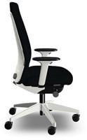 Bureaustoel Interstuhl New Every EV117 wit / zwart stof Era-2