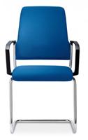 Bezoekersstoel Interstuhl Goal 550G - Lucia Zwart (5800)-2