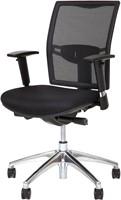 Bureaustoel Van Hilten Huislijn BN01 - Oasis Zwart (9111)