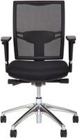 Bureaustoel Van Hilten Huislijn BN01 - Oasis Zwart (9111)-2
