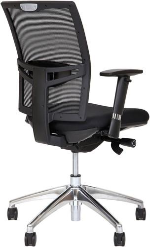 Bureaustoel Van Hilten Huislijn BN01 - Oasis Zwart (9111)-3
