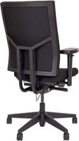 Bureaustoel met extra dikke Comfort Zitting - Oasis Zwart (9111)-3
