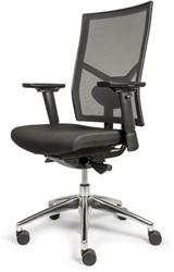 Bureaustoel Edition met Comfort Zitting zwart en Netbespanning rugleuning - Oasis Zwart (9111)