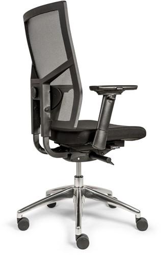 Bureaustoel Edition met Comfort Zitting zwart en Netbespanning rugleuning - Oasis Zwart (9111)-3