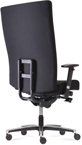 Bureaustoel Manager XXL inzetbaar tot 200 kg - Oasis Zwart (9111)-3