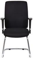 Bezoekersstoel Van Hilten Huislijn BG22 - Oasis Zwart (9111)-2
