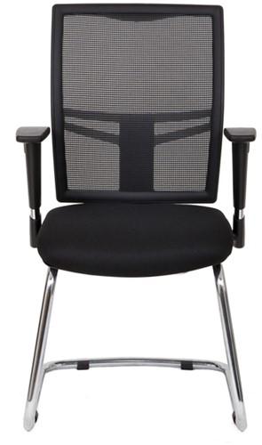 Bezoekersstoel Van Hilten Huislijn BN22 - Oasis Zwart (9111)-2