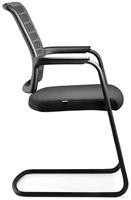 Bezoekersstoel Interstuhl Hero 570H - Era Zwart (ER01)-2