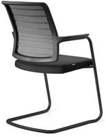 Bezoekersstoel Interstuhl Hero 570H - Era Zwart (ER01)-3