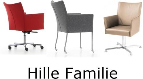 Bezoekersstoel Huislijn Hille Zwart-3