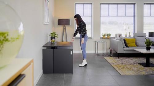 HomeFit - sfeer - zwart - B - zonder plintuitsparing