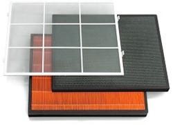 Filterset voor Luchtreiniger Ideal AP40 Med Edition