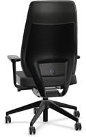 Bureaustoel Interstuhl Joyce JC112 hoge rug zwart / zwarte stof Era-2