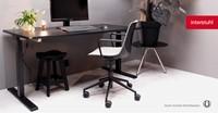 Bureaustoel Interstuhl Shuffle met Design open armlegger SU153-3
