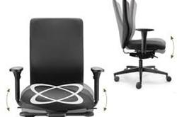 Bureaustoel  CYMO NL Medium met ergotop zwart