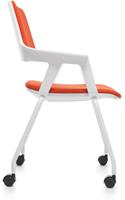 Bezoekersstoel Interstuhl Movy 46M5 - Era Zwart (ER01)-3