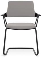 Bezoekersstoel Interstuhl Movy 56M0 - Era Zwart (ER01)-2