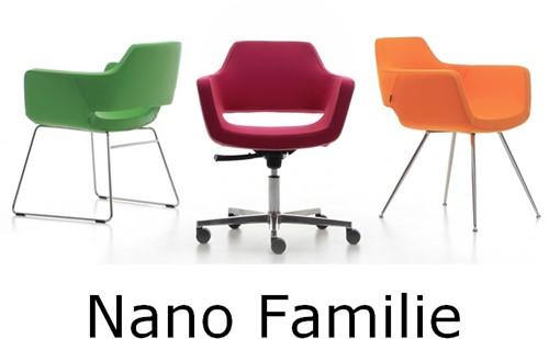 Bezoekersstoel Huislijn Nano Zwart-3