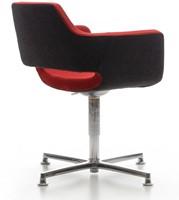 Bezoekersstoel Huislijn Nano Zwart-2
