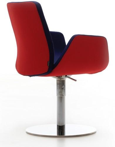 Bezoekersstoel Huislijn Nero Zwart-2