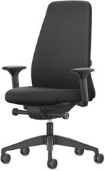 Bureaustoel Interstuhl New Every EV117 zwart / zwart stof Era