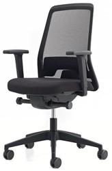 Bureaustoel Interstuhl New Every EV211 zwart / zwart stof Era
