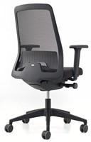 Bureaustoel Interstuhl New Every EV211 zwart / zwart stof Era-3