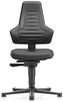Industriestoel Bimos Nexxit 1 met glijders universeel inzetbaar - Geen Armleggers - Geen Handgrepen