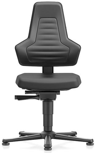 Industriestoel Bimos Nexxit 1 met glijders universeel inzetbaar - Standaard Armleggers - Geen Handgrepen