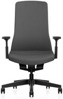 Bureaustoel Interstuhl Pure met 3D zitbeweging PU113  zwart / zwart-2