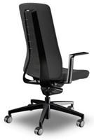 Bureaustoel Interstuhl Pure met 3D zitbeweging PU113  zwart / zwart-3