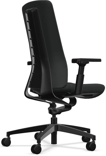Bureaustoel Interstuhl Pure met 3D zitbeweging PU113  zwart / antraciet-2