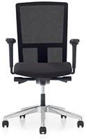 Bureaustoel Pro - Lucia Zwart (5800) - Met rug in netbespanning -2