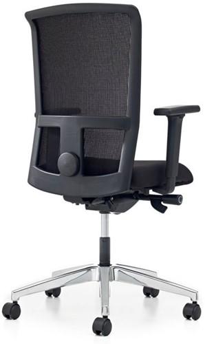 Bureaustoel Pro - Lucia Zwart (5800) - Met rug in netbespanning -3