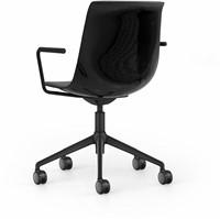 Bureaustoel Interstuhl Shuffle met Design open armlegger SU153-2
