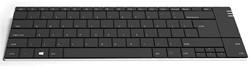 Toetsenbord Ergoline Solo-X compact ultra plat draadloos zwart