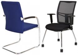 Bezoekersstoelen van Hilten