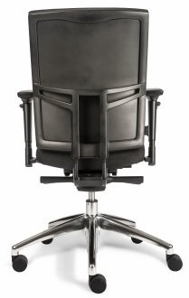 Bureaustoel Van Hilten Edition Basic met Comfort Zitting en Rugleuning zwart - Oasis Zwart (9111)-2