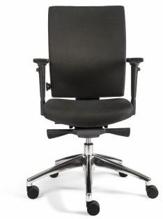 Bureaustoel Van Hilten Edition Basic met Comfort Zitting en Rugleuning zwart - Oasis Zwart (9111)-3