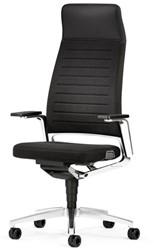 Bureaustoel Interstuhl Vintage 32V2 met hoge gestoffeerde rug