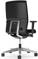 Bureaustoel Interstuhl Yos Enjoy 160Y zwart / zilver-3