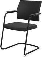 Bezoekersstoel Interstuhl Yoster 550Y - Lucia Zwart (5800)